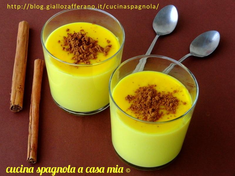ricetta dolce, cucina spagnola a casa mia - Ricette Cucina Spagnola