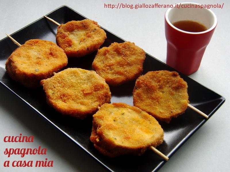 Spiedini di melanzane ripiene cucina spagnola a casa mia for Cucina spagnola
