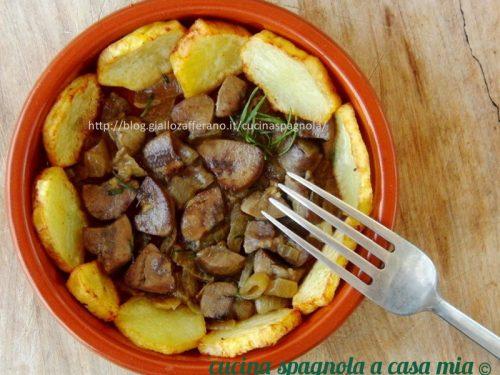 ROGNONE AL VINO E SENAPE | Cucina Spagnola