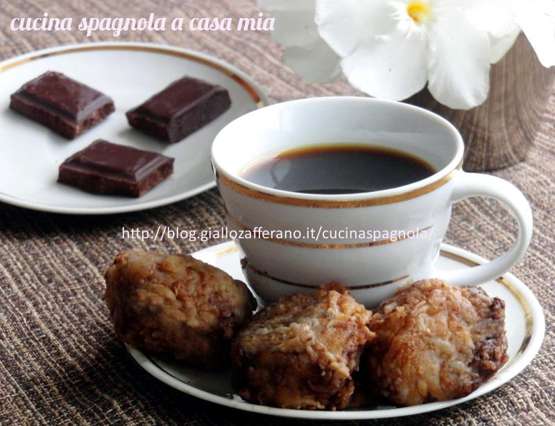 Cioccolato fritto ricetta dolce cucina spagnola a casa mia for Cucina spagnola