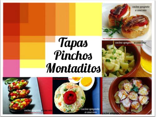 TAPAS, PINCHOS E MONTADITOS: CAPIAMO COSA SONO | Cucina Spagnola