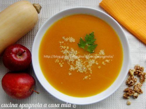 VELLUTATA DI ZUCCA E MELE | Ricetta facile e gustosa