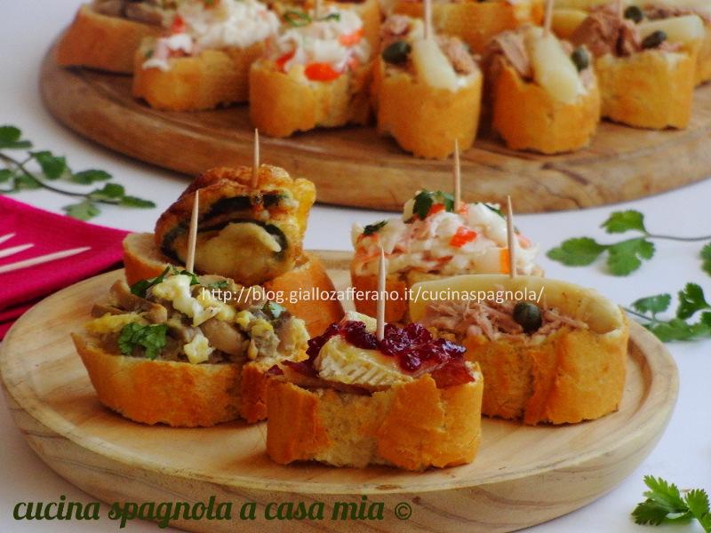 Pinchos antipasti facili e veloci cucina spagnola a casa mia for Ricette facili veloci