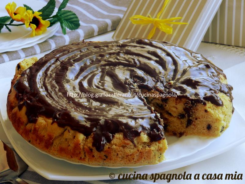 Ricetta torta con farina di mais e cioccolato senza glutine - Cucina giallo zafferano ...