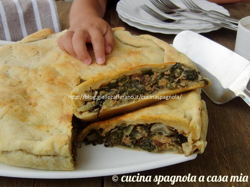 Ricetta torta salata con bietole e tonno e pasta matta - Cucina giallo zafferano ...