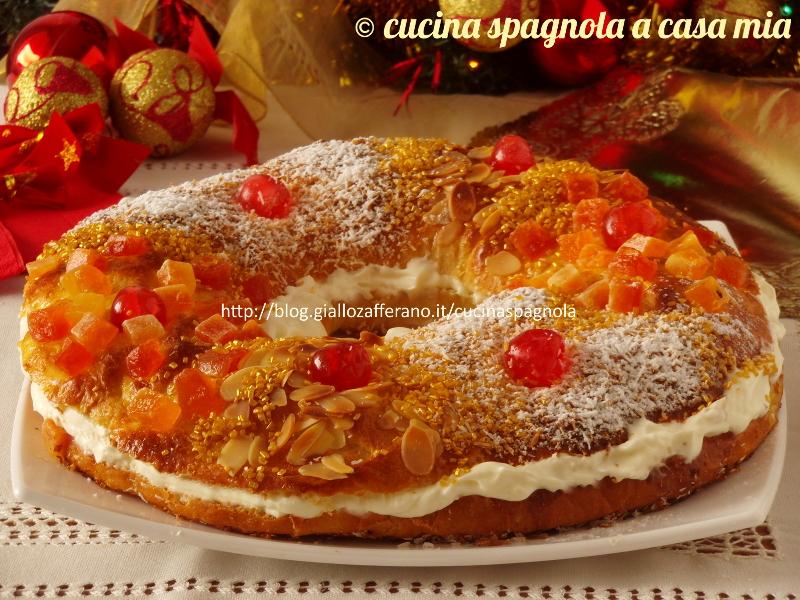 Très Roscón de Reyes, ricetta spagnola originale TU04