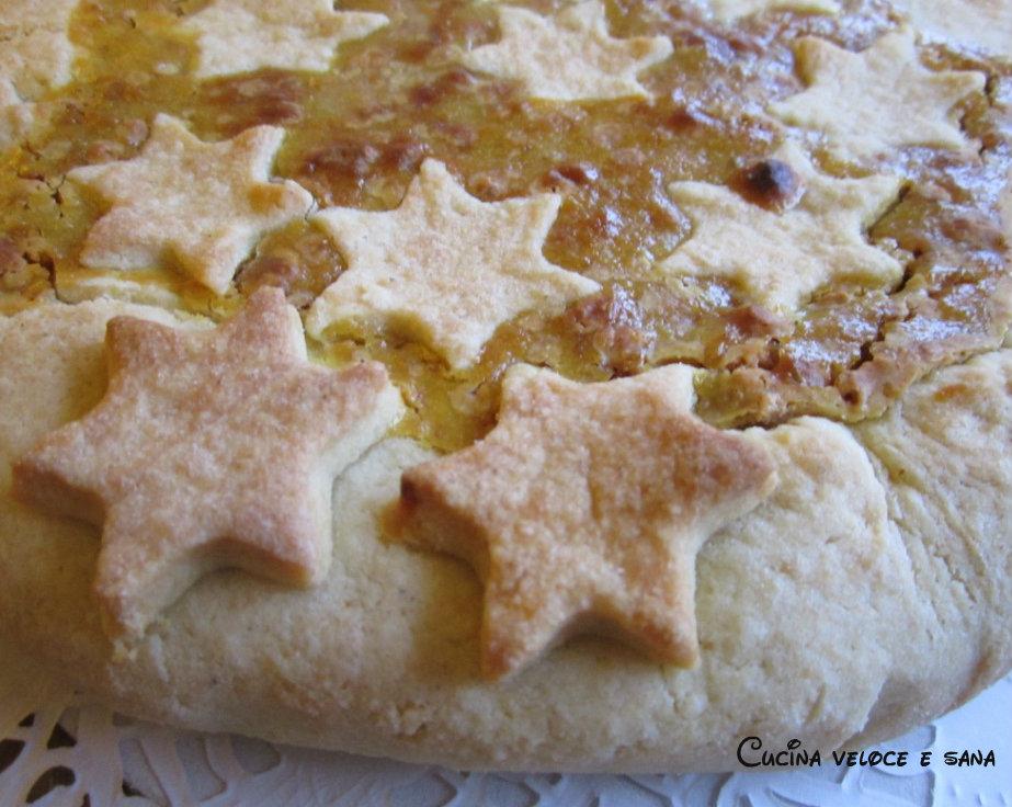 Torta di pane mele e amaretti ricetta dolce semplice for Cucina veloce e semplice