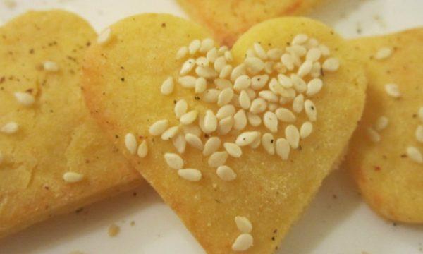 Biscotti al parmigiano e pepe, ricetta antipasti sfiziosi