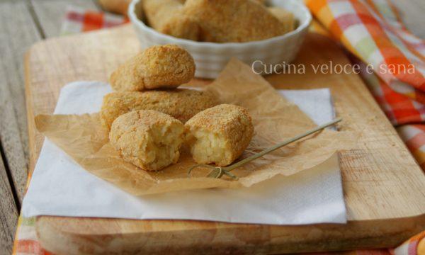 Crocchette di patate al forno, ricetta contorni
