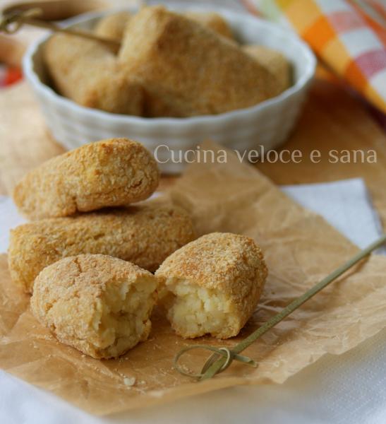 Crocchette di patate al forno cucina veloce e sana - Cucina veloce e sana ...