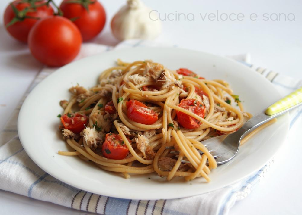 Spaghetti con le sarde e pomodorini, ricetta primi di pesce | Cucina ...
