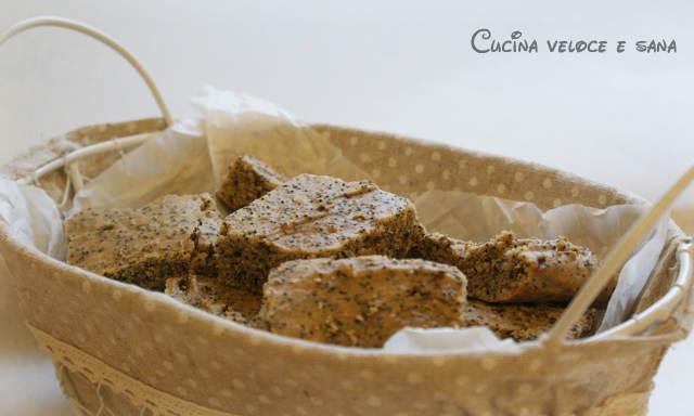 Dolcetti di riso e semi di papavero cucina veloce e sana - Cucina veloce e sana ...