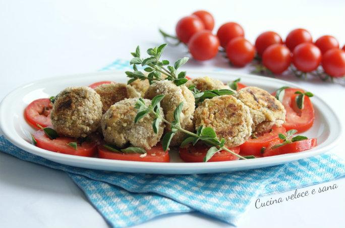Polpette di melanzane ricetta semplice cucina veloce e sana for Cucina veloce e semplice