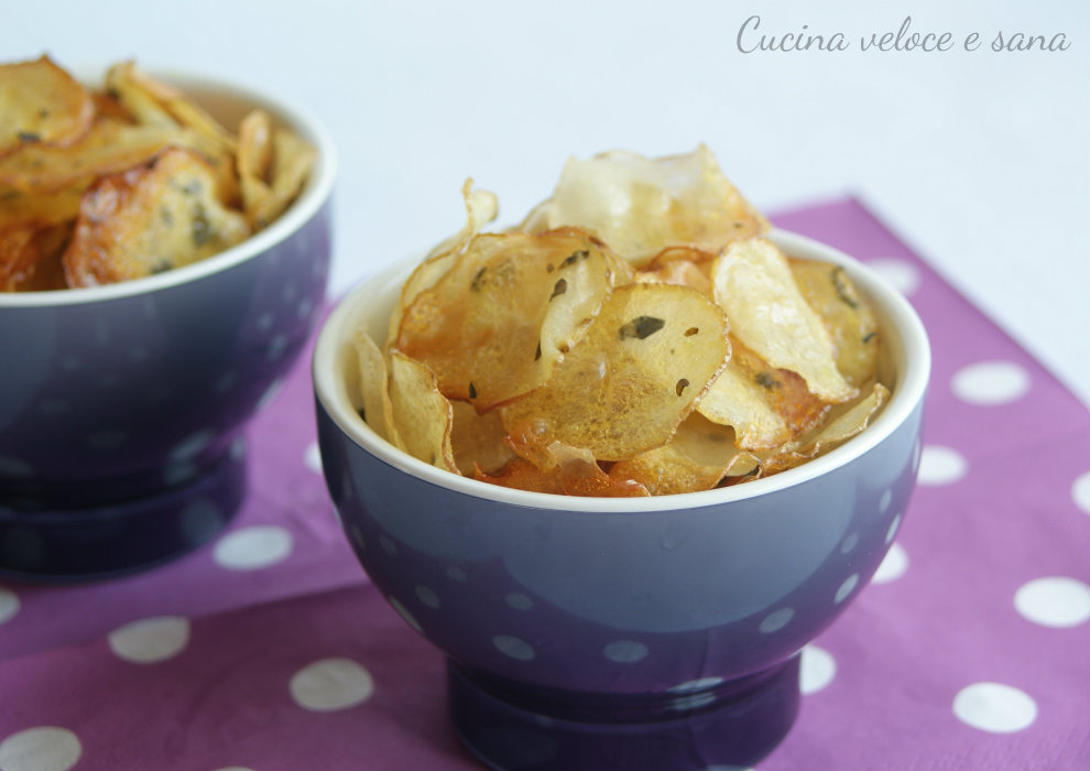 the best attitude 6953a affc0 Chips di patate al forno, ricetta sfiziosa