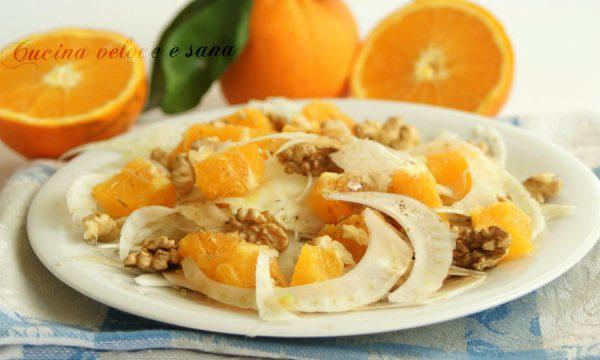 Insalata di finocchio, arance e noci