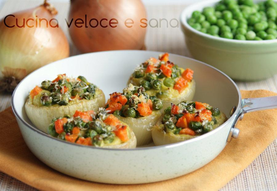 Cipolle ripiene alle verdure cucina veloce e sana - Cucina veloce e sana ...