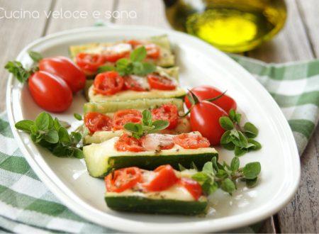 Zucchine alla pizzaiola in padella