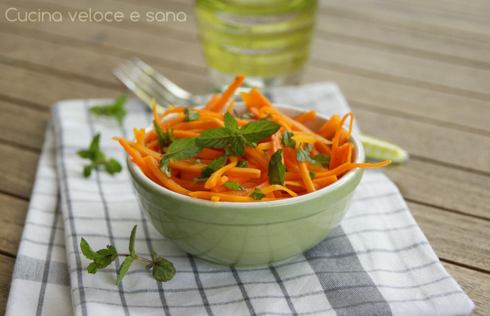 Carote alla menta cucina veloce e sana - Cucina veloce e sana ...