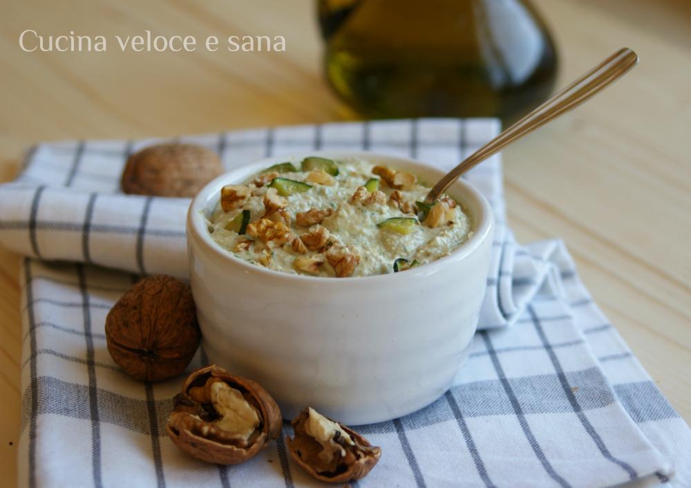 Pesto di zucchine ricotta e noci cucina veloce e sana - Cucina veloce e sana ...