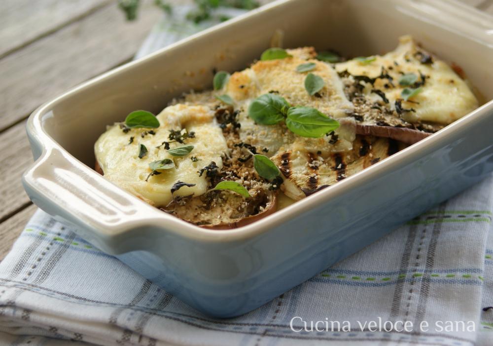 Sformato di melanzane e formaggio cucina veloce e sana - Cucina veloce e sana ...