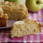 torta di mele e latte