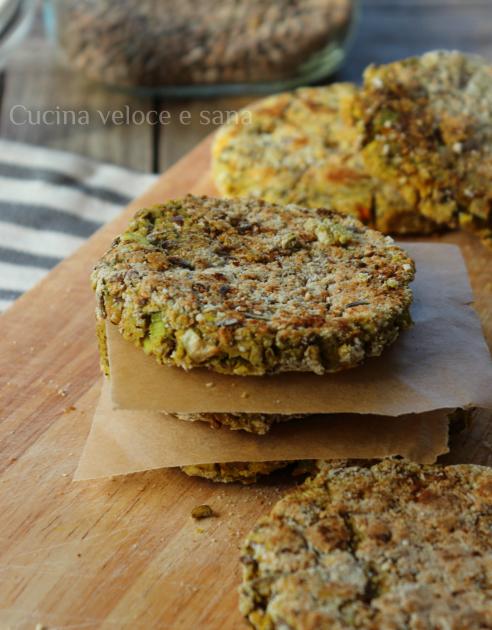 Veggie burger di lenticchie e patate cucina veloce e sana - Cucina veloce e sana ...