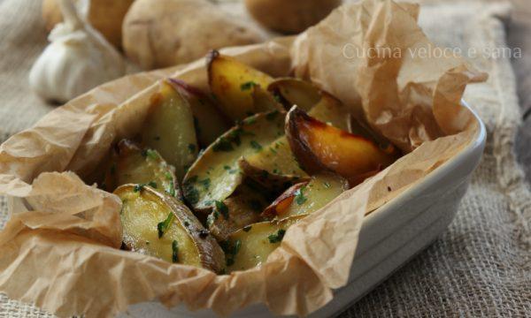 Patate all'aglio, ricetta contorni
