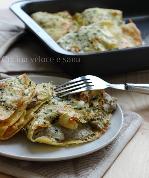 Crepes ai carciofi ricotta e crudo cucina veloce e sana - Cucina veloce e sana ...