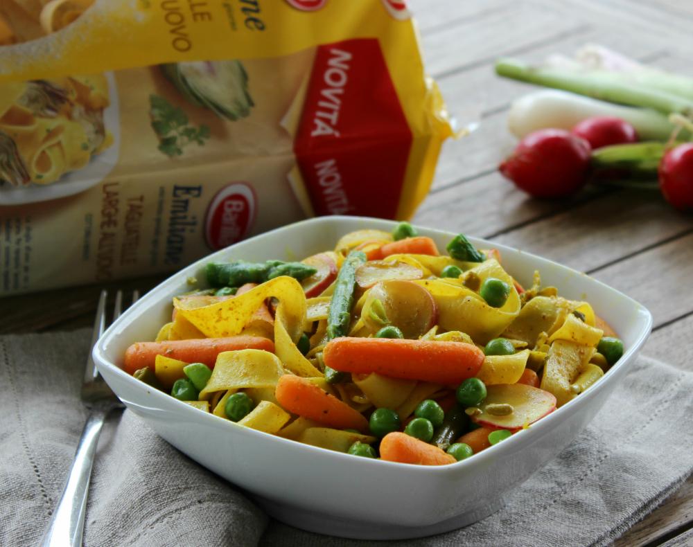 Tagliatelle al curry e verdure cucina veloce e sana - Cucina veloce e sana ...