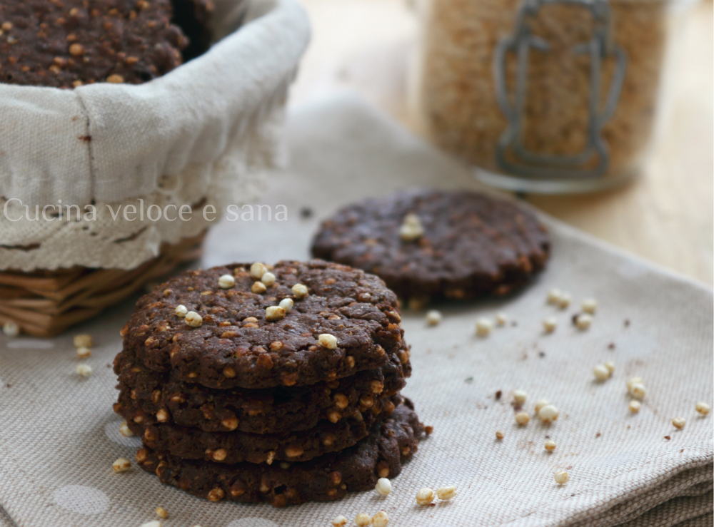 Dolci con quinoa soffiata