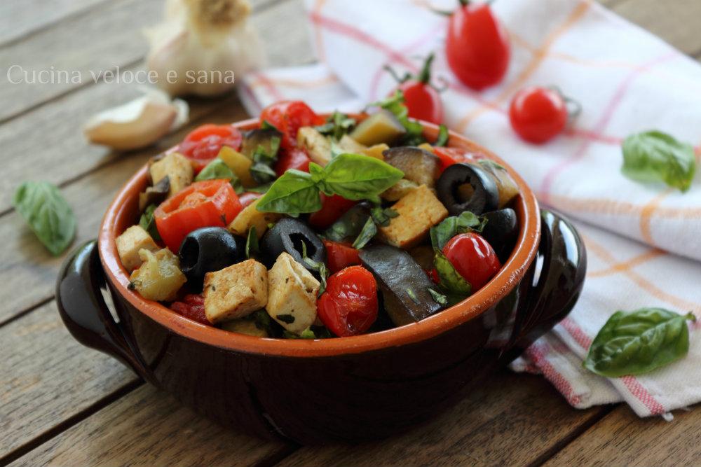 Tofu alla mediterranea cucina veloce e sana - Cucina veloce e sana ...