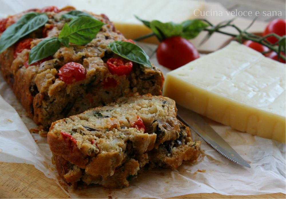 Plumcake salato melanzane cucina veloce e sana - Cucina veloce e sana ...