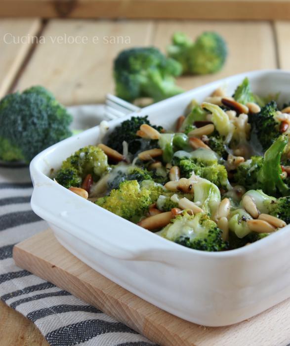 broccolo gratinato