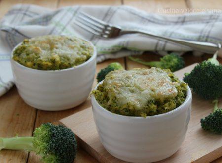 Tortini di polenta e broccoli