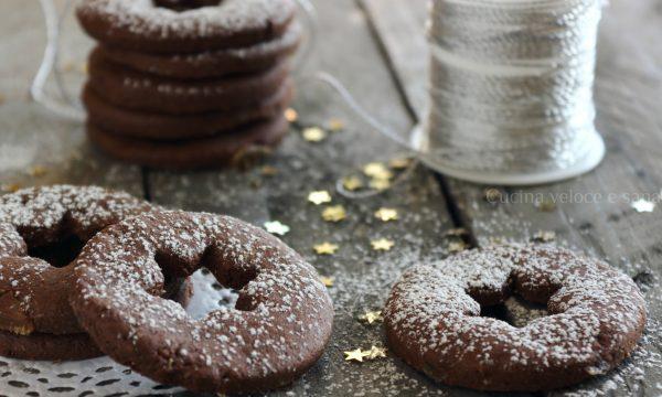 Biscotti allo zenzero candito e cioccolato