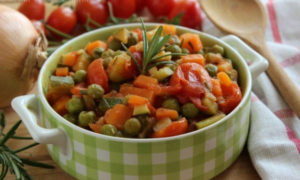 Ragù alle verdure