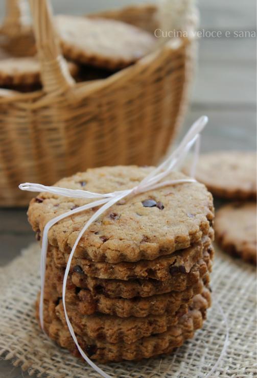 Eccezionale Biscotti ai cinque cereali e fave di cacao QJ84