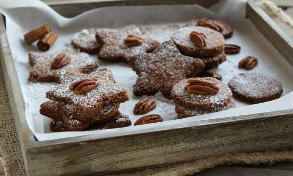 Biscotti al grano saraceno e noci pecan
