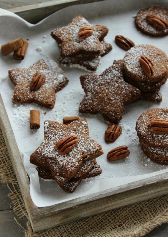 biscotti grano saraceno e noci pecan