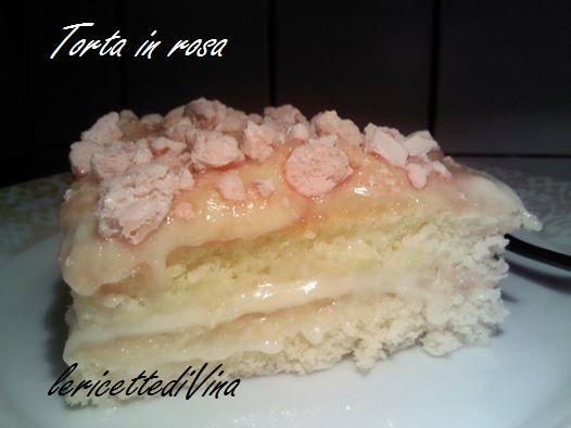 Torta  in rosa