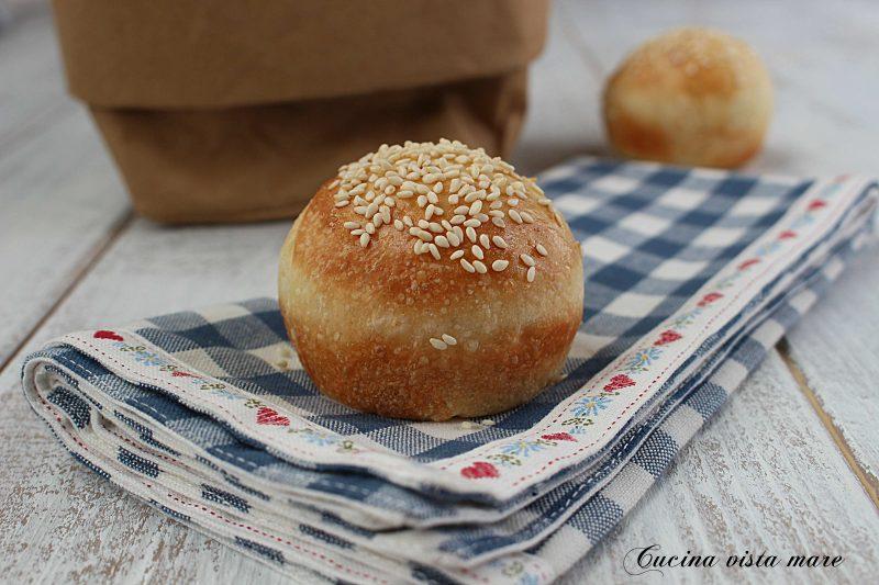 Mini panini al sesamo