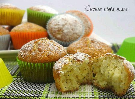 Muffin ai semi di papavero
