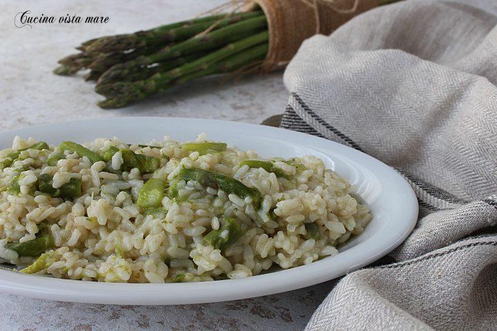 Ricetta Risotto Con Asparagi Monsieur Cuisine.Risotto Agli Asparagi Cucina Vista Mare
