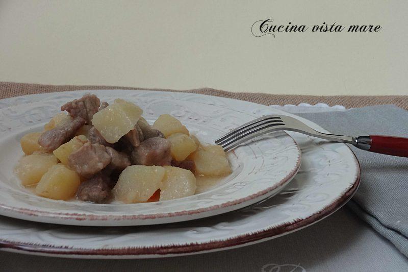 Spezzatino di maiale con patate