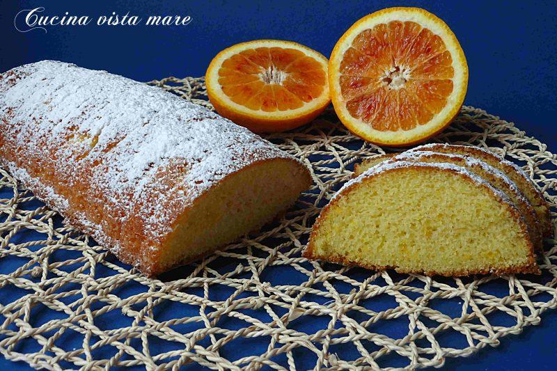 Plumcake al profumo di arancia