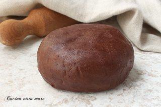 Pasta frolla al cacao Cucina vista mare