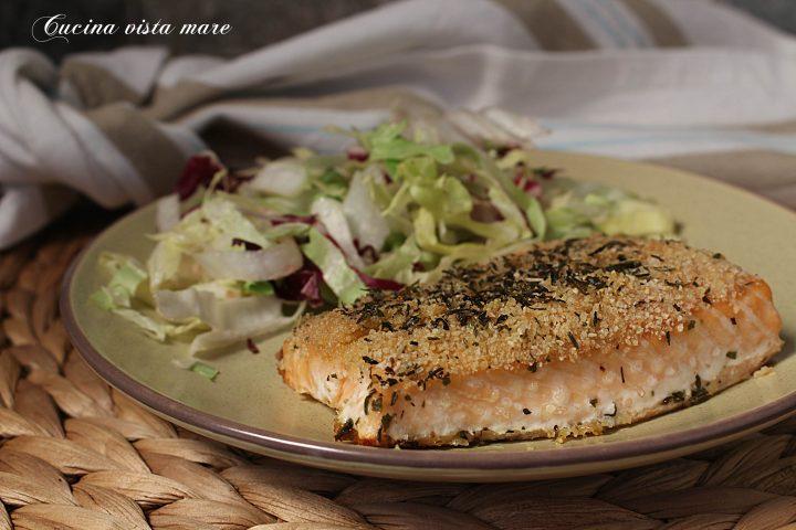 Filetto di salmone allo zenzero