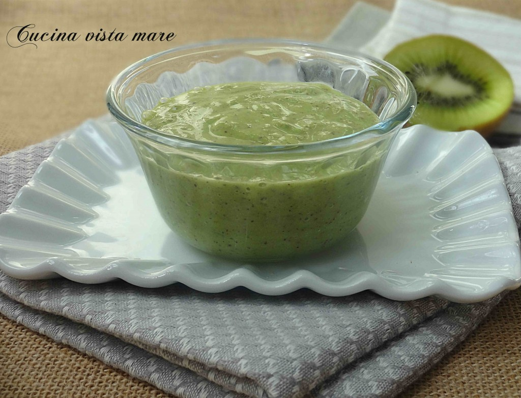 Salsa al kiwi Cucina vista mare