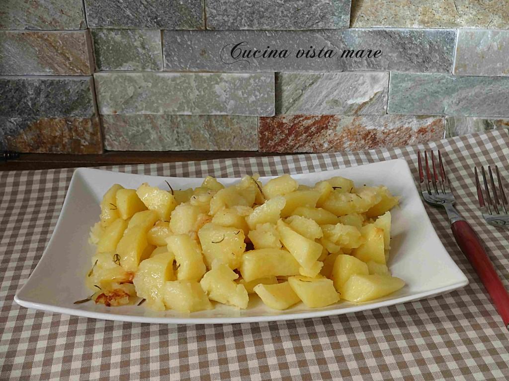 Patate nel fornetto Versilia Cucina vista mare