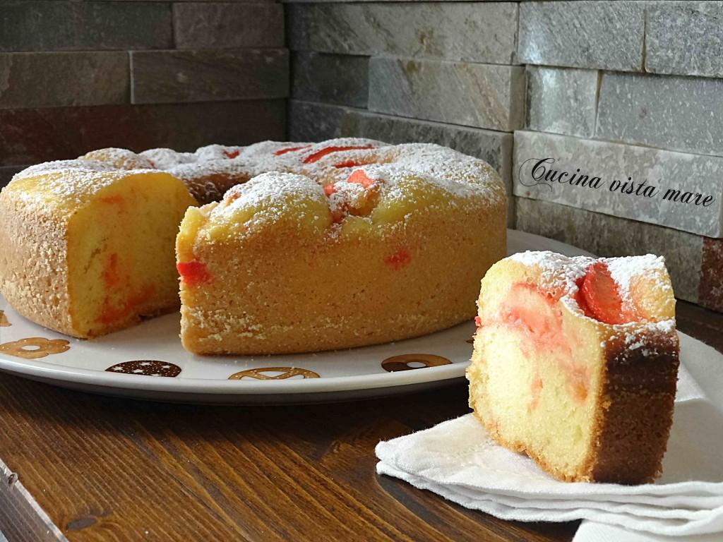 Ciambella alle mele nel fornetto Versilia Cucina vista mare